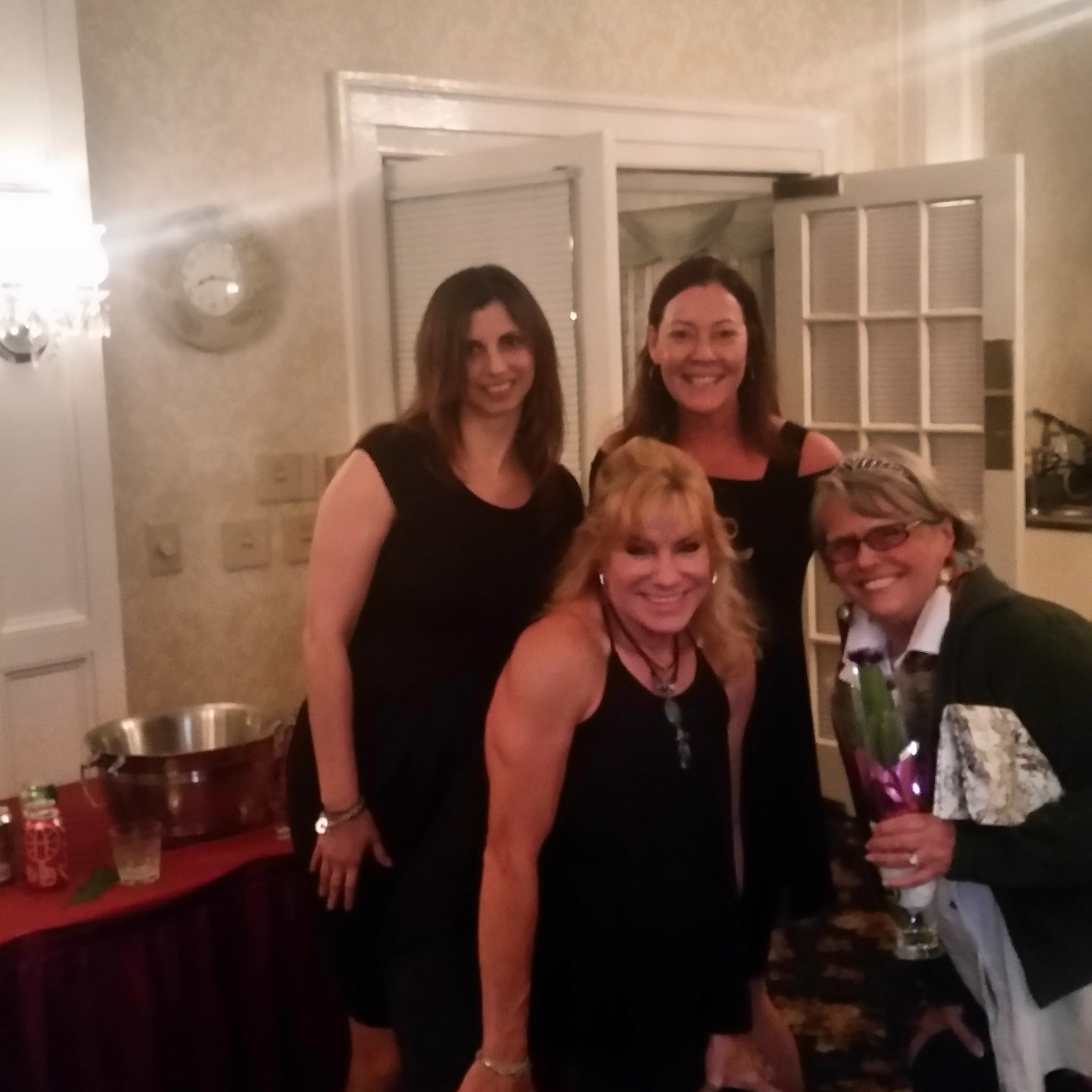 Jennifer seen here with clients and Trainee of the Year Jan Richards.